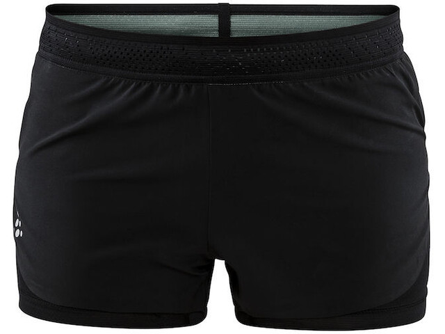 Craft Nanoweight Hardloop Shorts Dames zwart